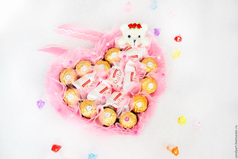 Валентинки для конфет своими руками