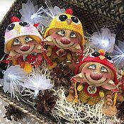 Куклы и игрушки ручной работы. Ярмарка Мастеров - ручная работа Коллекция Little Troll Цыплята. Handmade.