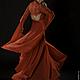 Платья ручной работы. Платье RosenRed. Платья от Nika Everdream. Ярмарка Мастеров. Платье для свидания, платье с рукавами, легкое платье