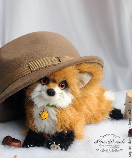 Мишки Тедди ручной работы. Ярмарка Мастеров - ручная работа. Купить осенний лисёнок. Handmade. Рыжий, лиса игрушка