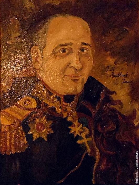портрет мужчины тематический (30 на 40см), художник Чернявская Дарья