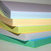 Материалы для творчества ручной работы. Ярмарка Мастеров - ручная работа Блоки для блокнотов А5. Handmade.