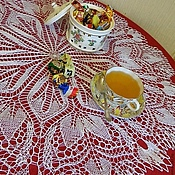 Для дома и интерьера handmade. Livemaster - original item Decorative napkins: Napkin