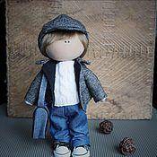 Куклы и игрушки ручной работы. Ярмарка Мастеров - ручная работа Текстильная кукла Тим. Handmade.