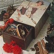 "Подарки к праздникам handmade. Livemaster - original item Mulled wine (Gluhwein) kit   - ""Winter in the Alps"". Handmade."