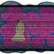 Текстиль, ковры ручной работы. Ярмарка Мастеров - ручная работа. Купить Весна в Стамбуле. Handmade. Фуксия, коричневый, кобальт