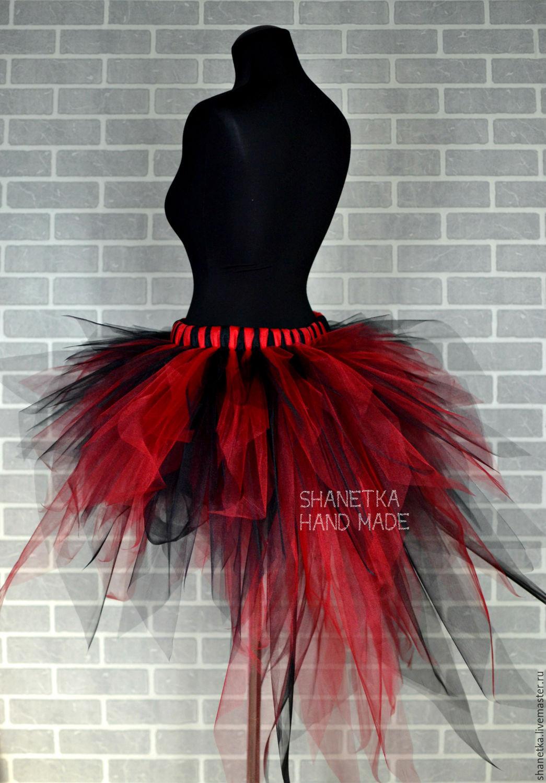 67504f3444 Skirts handmade. Livemaster - handmade. Buy Tutu skirt with train made of  tulle Raspberry .