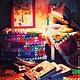 """Текстиль, ковры ручной работы. Ярмарка Мастеров - ручная работа. Купить Плед из мотивов """"бабушкин квадрат """". Handmade."""