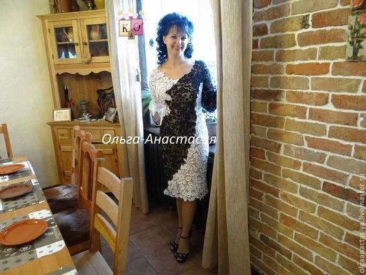"""Платья ручной работы. Ярмарка Мастеров - ручная работа. Купить Ирландское кружево платье """"Роскошь"""" модель 2,авторская работа. Handmade."""