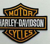 Материалы для творчества ручной работы. Ярмарка Мастеров - ручная работа Шеврон Harley Davidson. Handmade.