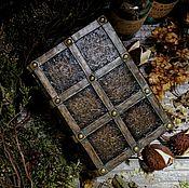 """Для дома и интерьера ручной работы. Ярмарка Мастеров - ручная работа Шкатулка """"Средневековый фолиант"""". Handmade."""
