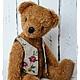 Мишки Тедди ручной работы. Ярмарка Мастеров - ручная работа. Купить Мишка Тедди Гриша 27см. Handmade. Тедди, классический