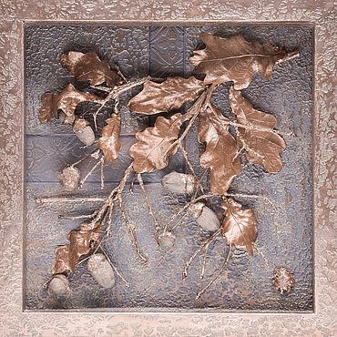 """Картины и панно ручной работы. Ярмарка Мастеров - ручная работа Дерево долголетия от """"VivantArt"""" серебряный лед. Handmade."""