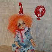 Куклы и игрушки ручной работы. Ярмарка Мастеров - ручная работа Клоунесса на день рождения. Handmade.