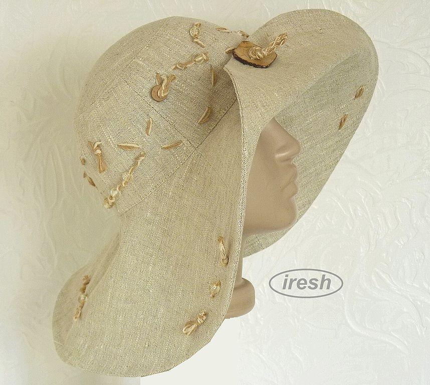 Шляпы из льна своими руками