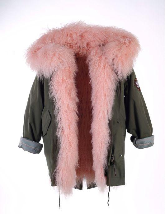"""Верхняя одежда ручной работы. Ярмарка Мастеров - ручная работа. Купить """" Truly Pink """"(""""Истинно розовый""""). Handmade. Кремовый"""