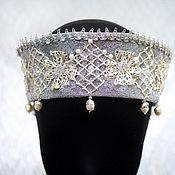Одежда handmade. Livemaster - original item Stage headpiece of the