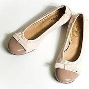 Обувь ручной работы. Ярмарка Мастеров - ручная работа Балетки Baiser. Handmade.