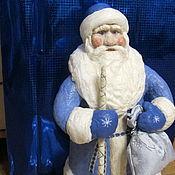 Подарки к праздникам ручной работы. Ярмарка Мастеров - ручная работа Дед Мороз .Настоящий ватный. Handmade.