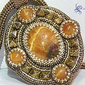 Набор украшений из Симбирцита Кельское золото