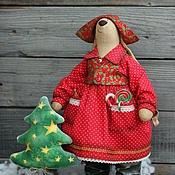 Куклы и игрушки ручной работы. Ярмарка Мастеров - ручная работа Игрушка новогодняя. Зайка. Handmade.