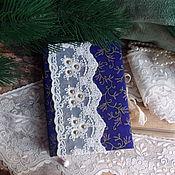 """Канцелярские товары ручной работы. Ярмарка Мастеров - ручная работа Блокнот """" Шикарный фиолетовый """". Handmade."""