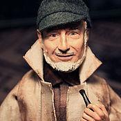 Куклы и игрушки ручной работы. Ярмарка Мастеров - ручная работа портретная кукла Капитан. Handmade.