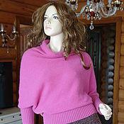 Одежда handmade. Livemaster - original item Dusty fuchsia blouse square. Handmade.