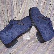 """Обувь ручной работы. Ярмарка Мастеров - ручная работа Туфли валяные по мотивам модели """"Прекрасная леди"""". Handmade."""