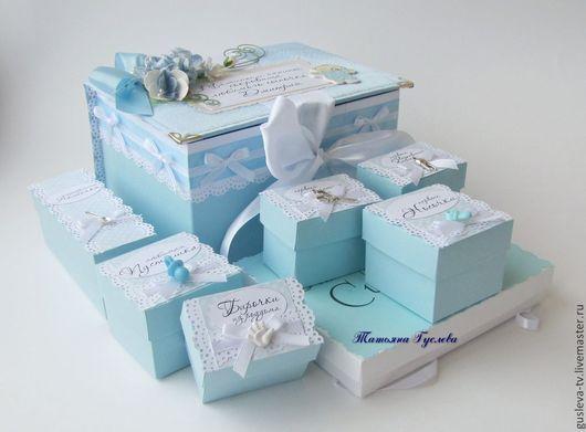 Подарки для новорожденных, ручной работы. Ярмарка Мастеров - ручная работа. Купить 2 дно. Мамины сокровища. Handmade. Голубой, мамино