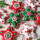 Order Stars from felt. gift 2020. made with love. Livemaster. . Christmas decorations Фото №3