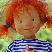 Куклы и игрушки ручной работы. Ярмарка Мастеров - ручная работа Вальдорфская кукла Солнечная Майя 41см. Handmade.