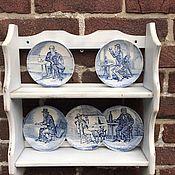 Винтаж handmade. Livemaster - original item Plate rack, handmade, Holland. Handmade.