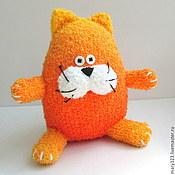 Куклы и игрушки ручной работы. Ярмарка Мастеров - ручная работа Игрушка Кот Рыжик. Handmade.