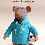 """Куклы и игрушки ручной работы. Ярмарка Мастеров - ручная работа Мышонок """"Тотти"""". Handmade."""
