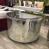Для дома и интерьера handmade. Livemaster - original item Mirror coffee table with crystals. Handmade.