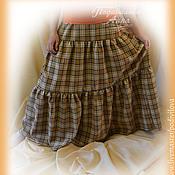 Одежда handmade. Livemaster - original item Skirt boho warm long ,tiered
