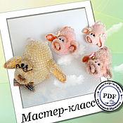 Материалы для творчества handmade. Livemaster - original item Flying pigs. MK. Handmade.