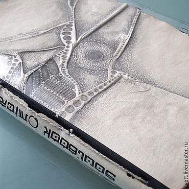 """Канцелярские товары ручной работы. Ярмарка Мастеров - ручная работа SOULBOOK-ART """"MICROCOSM"""" /05/. Handmade."""