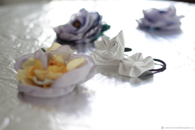 Elastic hair band made of natural silk velvet. Reserve, Scrunchy, Penza,  Фото №1