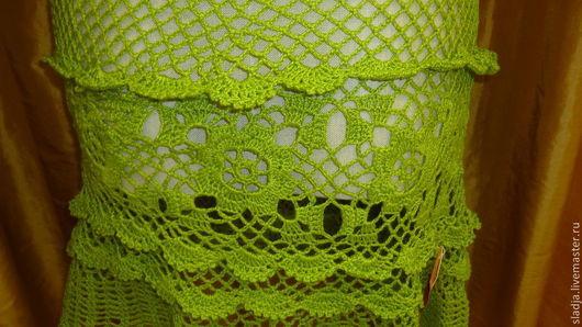 Юбки ручной работы. Ярмарка Мастеров - ручная работа. Купить Юбка ЗЕЛЕНОЕ ЯБЛОКО. Handmade. Зеленый, юбка мини, для девушки