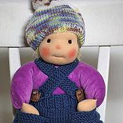 Куклы и игрушки ручной работы. Ярмарка Мастеров - ручная работа Домовёнок Кузя - вальдорфская кукла ручной работы. Handmade.