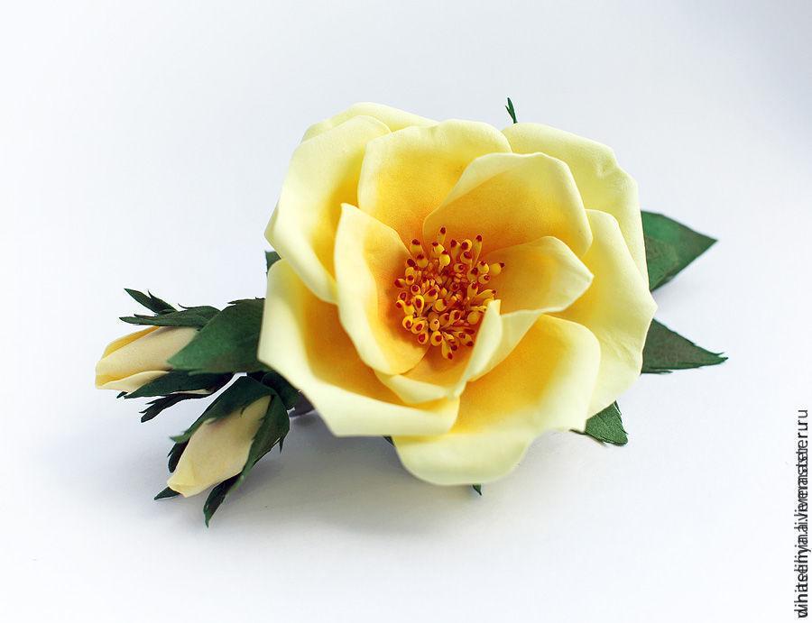 Подборка МК по изготовлению цветов из ФОАМИРАНА