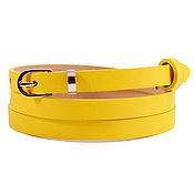 Аксессуары handmade. Livemaster - original item Copy of Copy of Copy of Gray leather belt. Handmade.