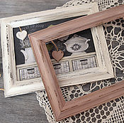 Сувениры и подарки manualidades. Livemaster - hecho a mano Photo frames Shabby-vintage,dusty rose.Idea for gift.. Handmade.