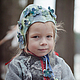 Одежда для девочек, ручной работы. Пальто и шапочка из войлока для девочки. AneleStudio. Ярмарка Мастеров. Цветы, ретро стиль, красный