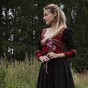 Одежда ручной работы. Ярмарка Мастеров - ручная работа Платье Гуцулка. Handmade.