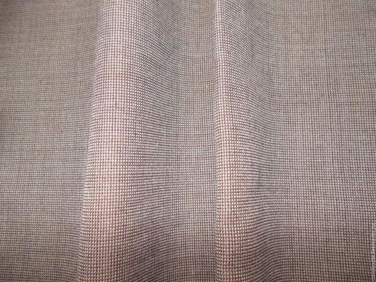 Шитье ручной работы. Ярмарка Мастеров - ручная работа. Купить отрез 140х79 ткань  шерсть костюмная. Handmade. Комбинированный, шерсть