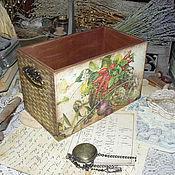 """Для дома и интерьера ручной работы. Ярмарка Мастеров - ручная работа """"Урожай"""" - короб для кухни. Handmade."""