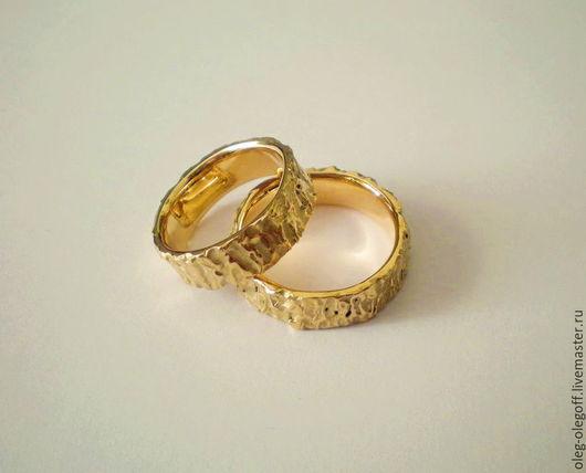 Кольца ручной работы. Ярмарка Мастеров - ручная работа. Купить Обручальные кольца. Handmade. Разноцветный, свадебные кольца, дизайнерское украшение